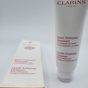 Clarins Gentle Foaming Cleanser For Dry Or Sensiti